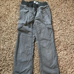 Boys Old Navy Pull On Gray Cargo Pants